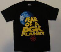 Dirty Ghetto Kids DGK Fear of a DGK Planet Short Sleeve T Shirt Mens Size Small
