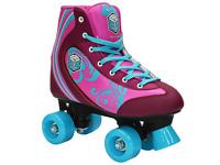 Epic Cotton Candy Kid's Children's Pink Purple Roller Skates FREE POSTAGE