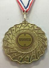 Gagnant médaille d'or en métal + gravure gratuite + FREE P&P