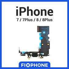 CONNECTEUR DE CHARGE IPHONE 7 / 7 PLUS / 8 / 8 PLUS NAPPE DOCK FLEX NOIR BLANC