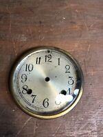 Vintage New Haven  Mantle Clock Face & Bezel