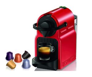 macchina da caffe' nespresso inissia a capsule krups rossa 19 bar automatica