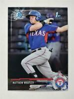 2017 Bowman Draft Chrome Base #BDC-121 Matthew Whatley