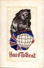 World War 1 Silk. Hard to Beat. British Bulldog.