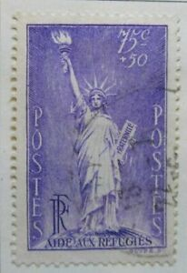 A8P6F65 France 1936 Semi-Postal Stamp 75c+50c used