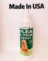 Natures Best Dogs Flea And Tick Spray .Clove Oil,Cedarwood Oil Cinnamon Oil  8OZ