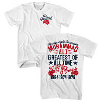 Muhammad Ali Greatest of All Time Men's T Shirt Boxing Heavyweight Champion Top