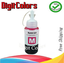 Refill Ink Bottle Magenta For Use with Epson L100 L200 L300 L350 L550 Cart T664