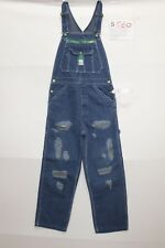 Salopette LIBERTY(Cod.S580)tg S W32 L30 Jeans usato vintage Originale Customized