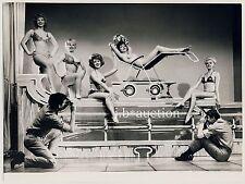 Nude Show WINDMILL THEATRE LONDON Cabaret * Vintage 1950s Photo by EDGAR BRIND