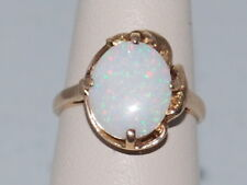 14k Gold ring with Opal(Oct birthstone) and beautiful design
