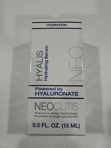 "NEO CUTIS HYALIS HYDRATING SERUM 0.5 FL OZ.  ""EXP. 04/2020"" New, New and sealed"