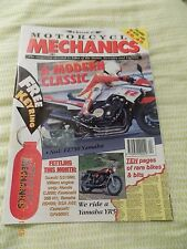 Classic motorcycle mechanics(no90)FZ750/GS1000/Villiers / Yam YR5/Kawa H1/CJ250/