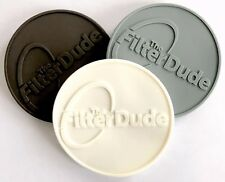 FilterDude - LEE AdapterCap 3-PACK - Grey, White and Charcoal