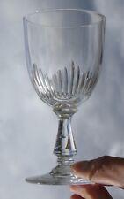 Baccarat - Verre à vin en cristal taillé, modèle jeux d'orgues (2)
