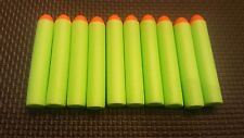 Streamlines 100 Green Darts Dome Style Work with Nerf Elite Blasters