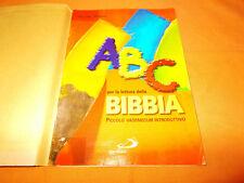 san paolo edizioni ABC per la lettura della bibbia ,giacomo perego