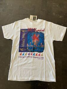 1996 Olympic Games Limited Edition Closing Ceremony T-Shirt SZ M (38-40)