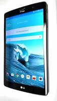 LG G Pad VK815, 16GB, Wi-Fi + 4G (Verizon), 8.3 Inch - Black, B Grade