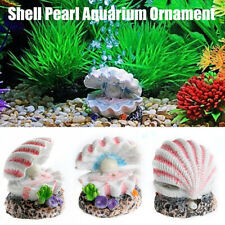 Chic Pearl Shell Air Bubble Stone Fish Tank Decoration  Ornament Air Stone