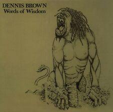 Dennis Brown Words Of Wisdom VP Records Scellé Disque Vinyle LP