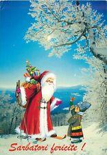 Romania Sarbatori Fericite greetings Santa Claus Christmas folk traditions