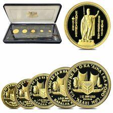 1993 1.9 oz Gold Hawaiian Sovereign 5-Coin Proof Set (w/Box)