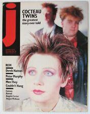 Jamming! No.35  December 1985  UK Magazine  Cocteau Twins REM Peter Murphy Cameo