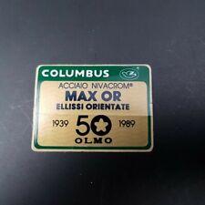 """Sticker cadre """"COLUMBUS MAX OR OLMO"""" NOS"""