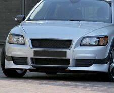 Volvo C30 06-10 Front Bumper spoiler flaps elerons skirt tuning C30R Heico Style