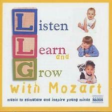 LISTEN, LEARN AND GROW WITH MOZART – NAXOS 2 CD SET (2000) OVER 150 MINUTES