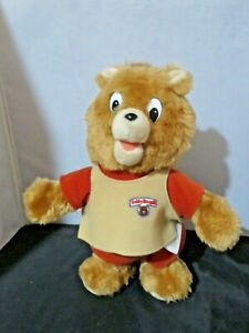 Vintage 1987 Teddy Ruxpin Little Boppers Worlds of Wonder Dancing - needs repair