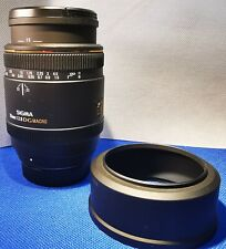 Sigma AF 70mm f2.8 DG Macro lente para Nikon