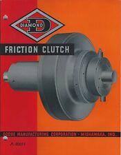 MRO Catalog - Dodge - Diamond D - Friction Clutch - 1941 - Brochure (MR165)
