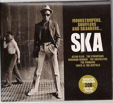 Various Moonstompers, Shufflers And Skankers... Ska Double CD UK CD