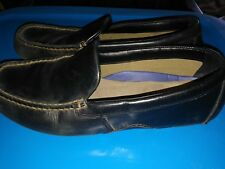 Sperry Top-Sider Black Leather Driving Mocs Moccasins Loafers Men's sz 10.5 M