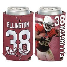 Arizona Cardinals Wincraft #38 Andre Ellington 12oz Can Coolie Free Ship