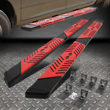 For 09 20 Dodge Ram 55 Crew Cab Step Nerf Bar Running Board Withcutout Step Pad Fits Dodge Ram 1500