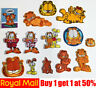 Cat Garfield Cute Dog Bear Cartoon Kids Fun Iron On Sew On Badge Patch