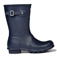 Hunter Original Short Navy Womens Boots