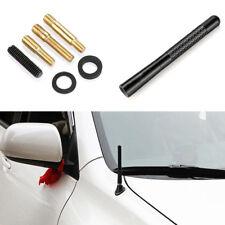 """Universal Car Aerial Antenna 4.7"""" Auto Aluminum Alloy Carbon Fiber FM AM Radio"""