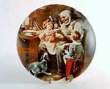 """The Toy Maker"" ~ Rockwell Society Collector Plate by Knowles China Co, #19823A"