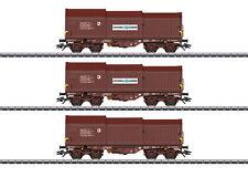 Märklin 46874 Güterwagen-Set mit 3 Teleskophaubenwagen der SNCB   #NEU in OVP#