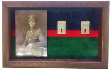 Large Royal Welsh Medal Display Case for 5+ Medals With Photograph