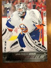 2015-16 UD Hockey Series 1 Young Guns #242 Jean-Francois Berube Pack Fresh