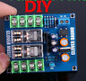 DIY Dual OMRON Relay UPC1237 Speaker Protection Board Kit For HIFI Amplifier
