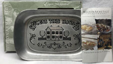 Wilton Armetale Bless This House For Ice Oven Tabletop Serverware Thermal New