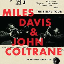 The Final Tour: The Bootleg Series, Vol. 6 by John Coltrane/Miles Davis (CD, Mar-2018, 4 Discs, Sony CMG)