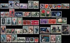 L'ANNÉE 1962 Complète, Neufs ** = Cote 56 €  / Lot Timbres France 1325 à 1367