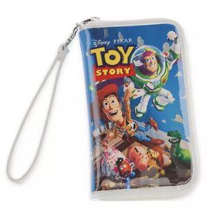 *NEW* Walt Disney Pixar Toy Story VHS Wristlet Wallet NWT